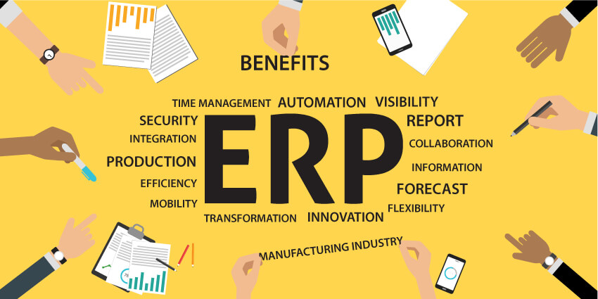 What are the Benefits of ERP in the Manufacturing Industry?