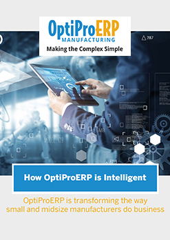 How OptiProERP is <br>Intelligent